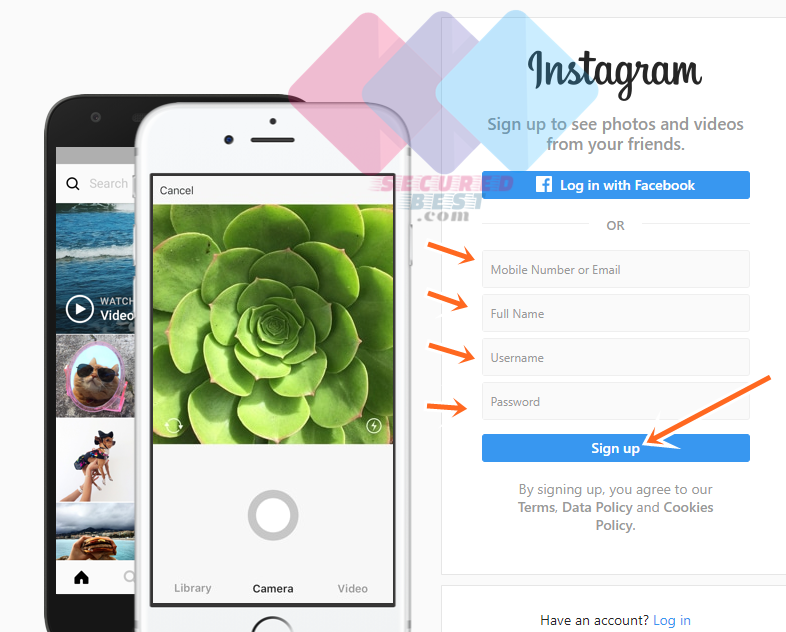 Instagram Sign Up Online Without App Free
