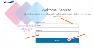 New LinkedIn Account Registration (With Pictures) - Create Linkedin Profile