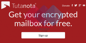Tutanota Email Sign Up Mailbox Account Free from www.Tutanota.com