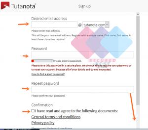 Tutanota Email Sign Up Mailbox Account Free from www.Tutanota.com