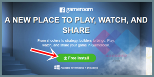 Facebook Game Room Download From www.facebook.com & Install Game Room