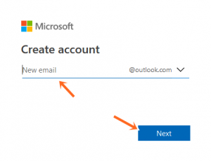 Hotmail Account Registration Form Outlook.live.com - Create Hotmail Account
