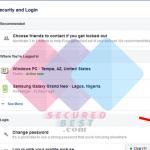How to Change My Facebook Password Login