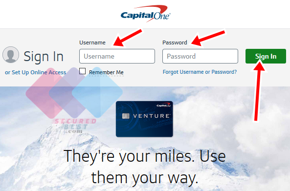 How To Make Capital One Credit Card Payment Online