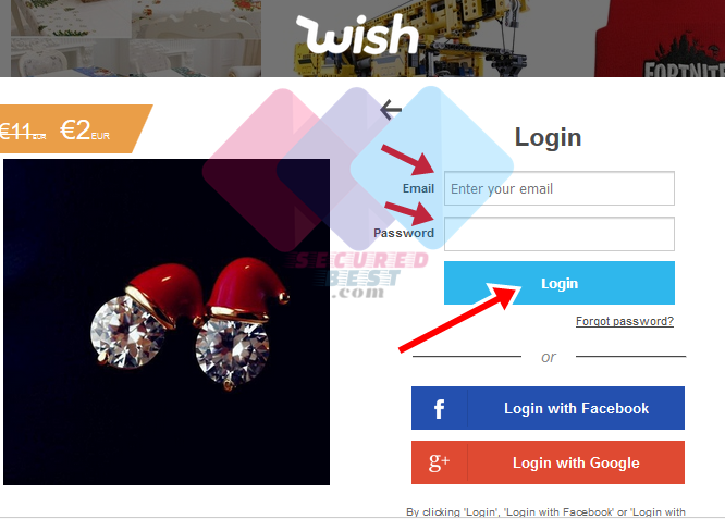 How to Sign In To Wish at Wish.com