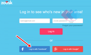 Zoosk Login Through Facebook - Zoosk Sign Up with Facebook Account
