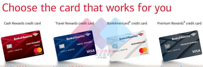 Bank of America Cash Rewards Credit Card Online Application Guide