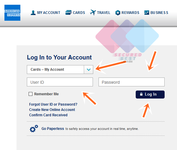 American Express Online Account Setup, Account Login & Opening