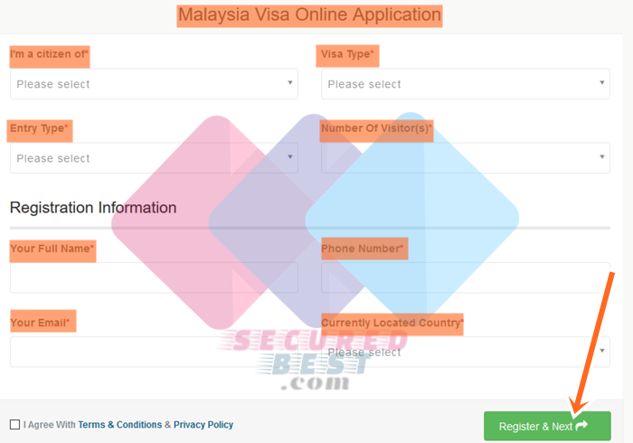 Malaysia Visa Application Form 2019 With Malaysia Visa Online Check