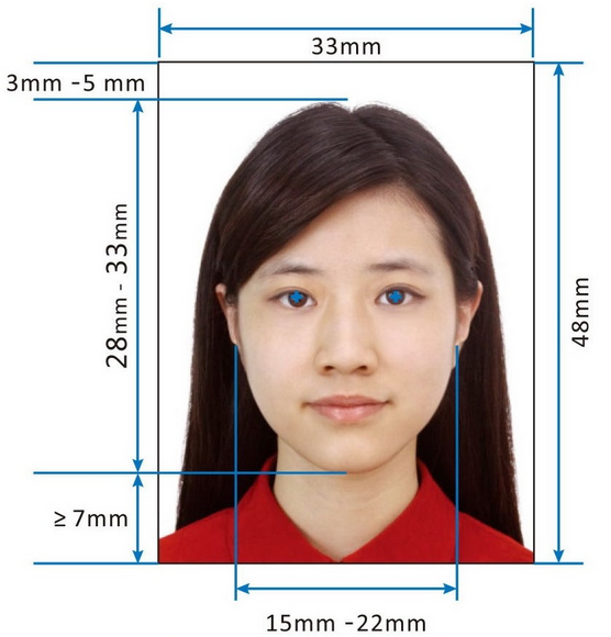 2019 New Requirement On Photos For Chinese Visa Form - Visa Photos