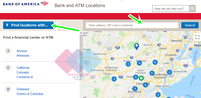 Bank of America Near Me With Bank of America Bank Locations