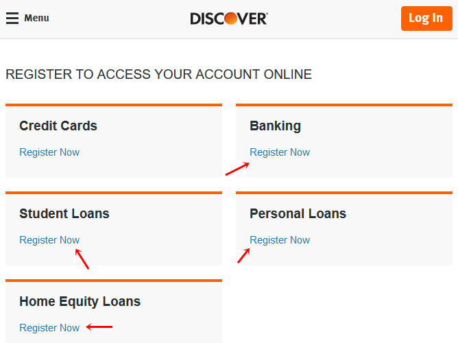 Free Discover Registration To Access Account Online