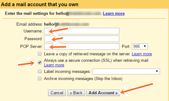create my own email address gmail