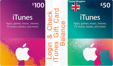 iTunes Gift Card Login Steps To Check iTunes Gift Card Balance