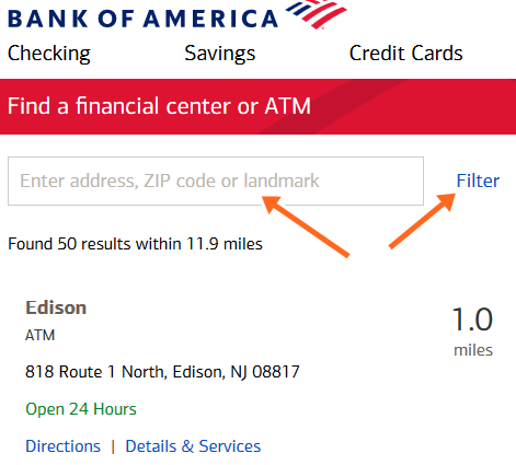 Bank of America ATM Near Me Right Now | How To Find BofA ATMs