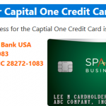 Payment Address for Capital One Credit Card, Capital One Pay My Bill