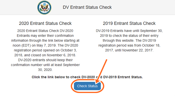 www.dvlottery.state.gov Result Check | How To check DV Result 2019/2020