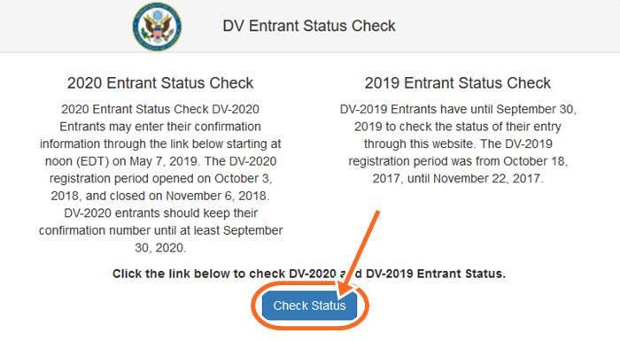 www.dvlottery.state.gov Result Check | How To check DV Result 2019/2020