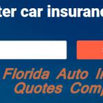 Florida Auto Insurance Quotes Comparison