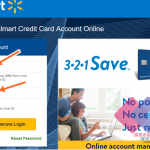 Walmart Credit Card Login For Payment | Pay Walmart Bill Online