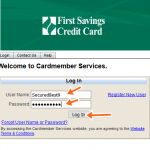 First Savings Credit Card Login Online, Bill Payment, Customer Service
