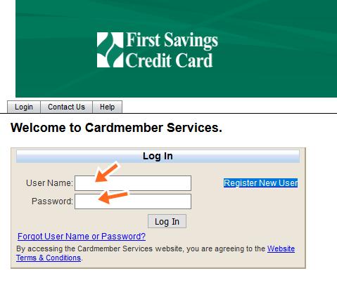 First Savings Credit Card Login Online
