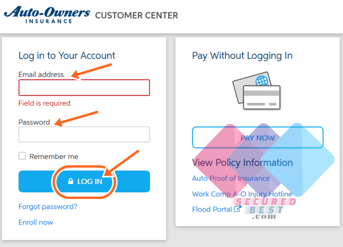 Auto Owners Login >> Auto Owners Insurance Online Bill Payment Login Portal