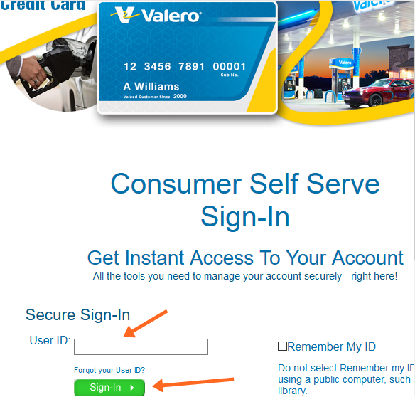 Valero Credit Card Customer Service, Login, Online Bill Payment