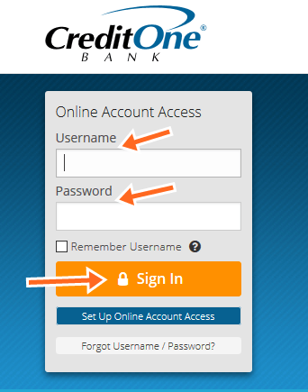 Credit One Bank Credit Card Payment Online (Credit One Bank Credit Card Login)