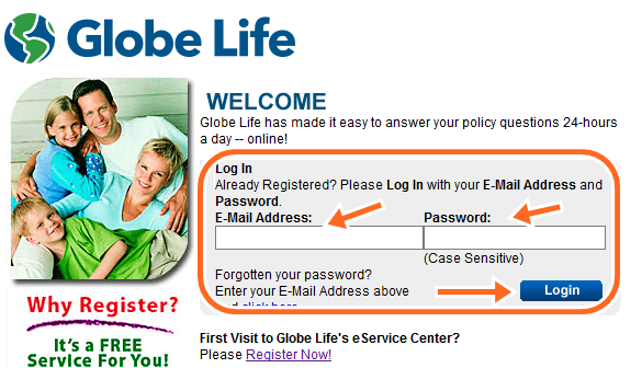 Globe Life Insurance Customer Service, login www.globelifeinsurance.com Pay Bill
