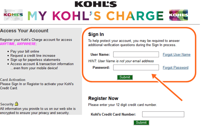 How to Pay My Kohls Bill Over The Phone, Kohl's Credit Card Sign In Payment
