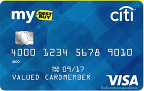 BestBuy Credit Card Application, Login - Best Card Online Payment