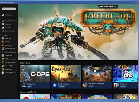 Download Facebook Gameroom & Install on Desktop