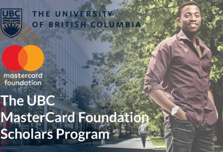 Fully Funded Mastercard Foundation Scholars Program